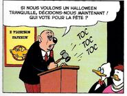 Sœur de Luc Glouton Un Halloween bien tranquille