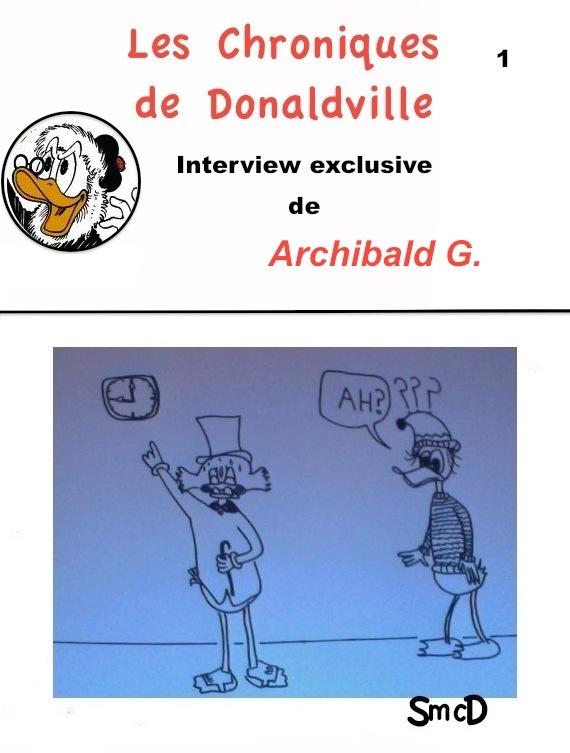 Scrooge MacDuck/Les Chroniques de Donaldville (1)