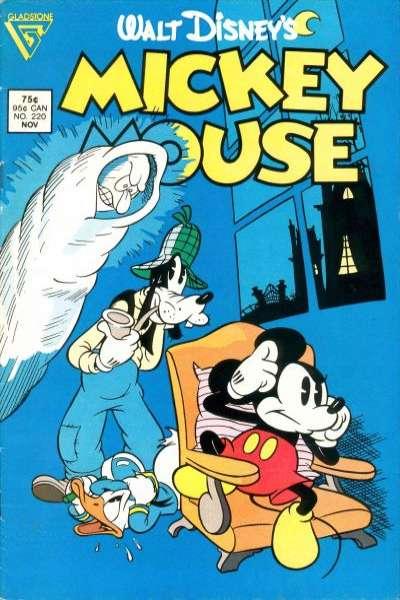 Mickey et les fantômes