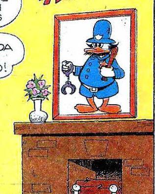 Arrière-grand-père de Daisy Duck