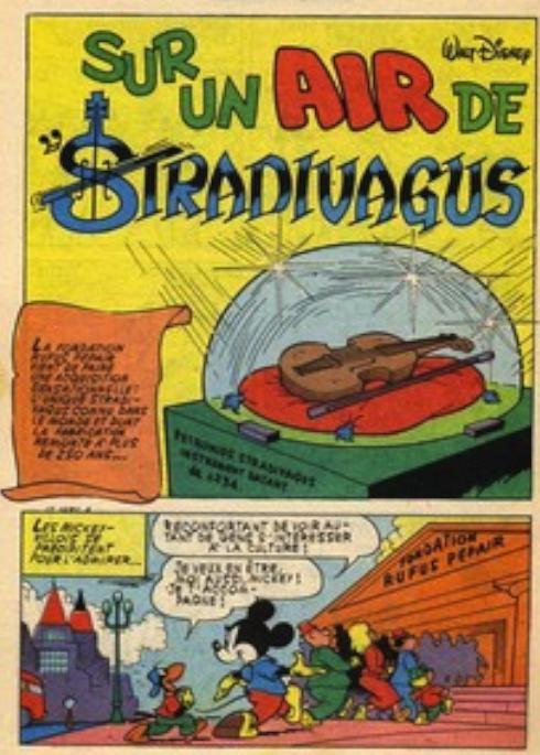 Sur un air de Stradivagus