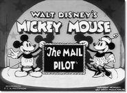 Title card Mickey postier du ciel