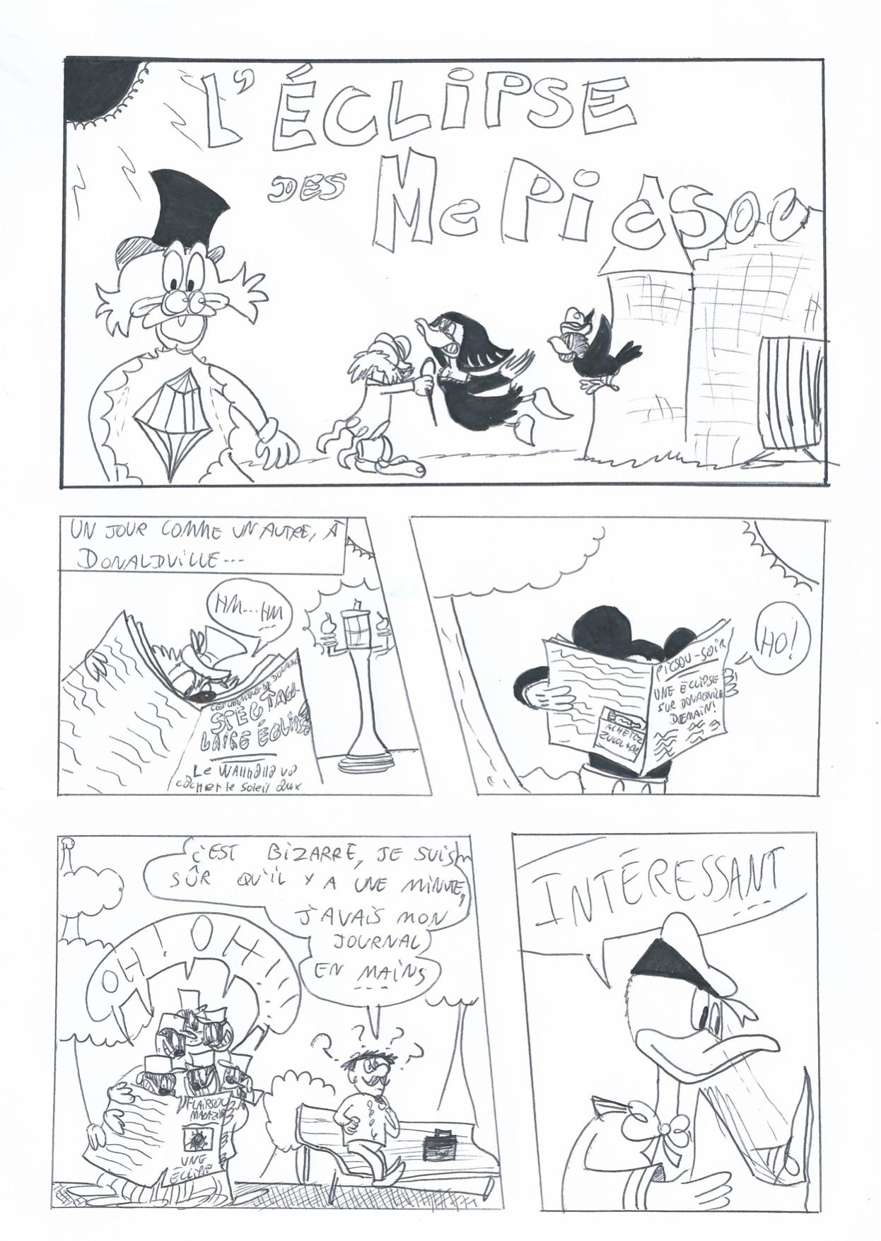 Scrooge MacDuck/Ma BD: L'Éclipse des McPicsou