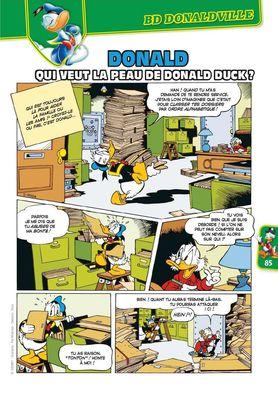 Qui veut la peau de Donald Duck ?