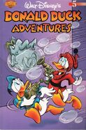Walt Disney's Donald Duck Adventures n°5 couverture 2004