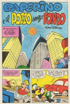 Donald et le Puits sans Fond