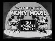 Title card The Whoopee Party