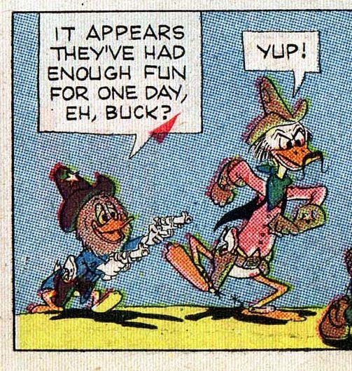 Buckaroo Duck