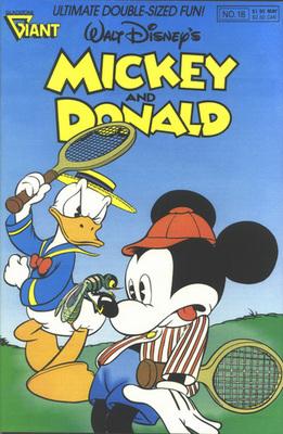 Mickey et la station-service