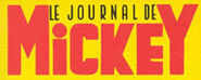 Deuxième logo du Journal de Mickey