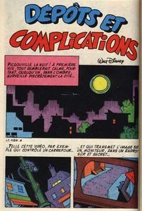Dépôts et complications