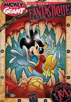 Couverture du Mickey Parade Géant Hors-série Sur le thème de la Dimension M
