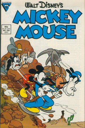 Mickey, un petit farceur
