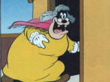 Pat Hibulaire déguisé en femme