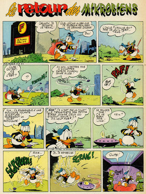 Le retour des micro-ducks de l'espace !
