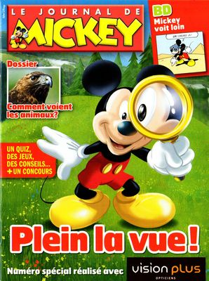 Mickey voit loin