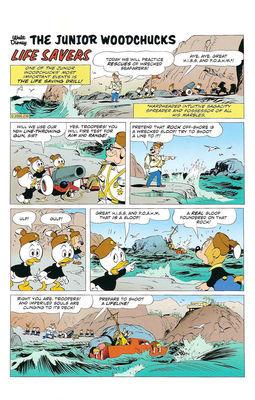 Les Sauveteurs (histoire de Carl Barks et Daan Jippes)