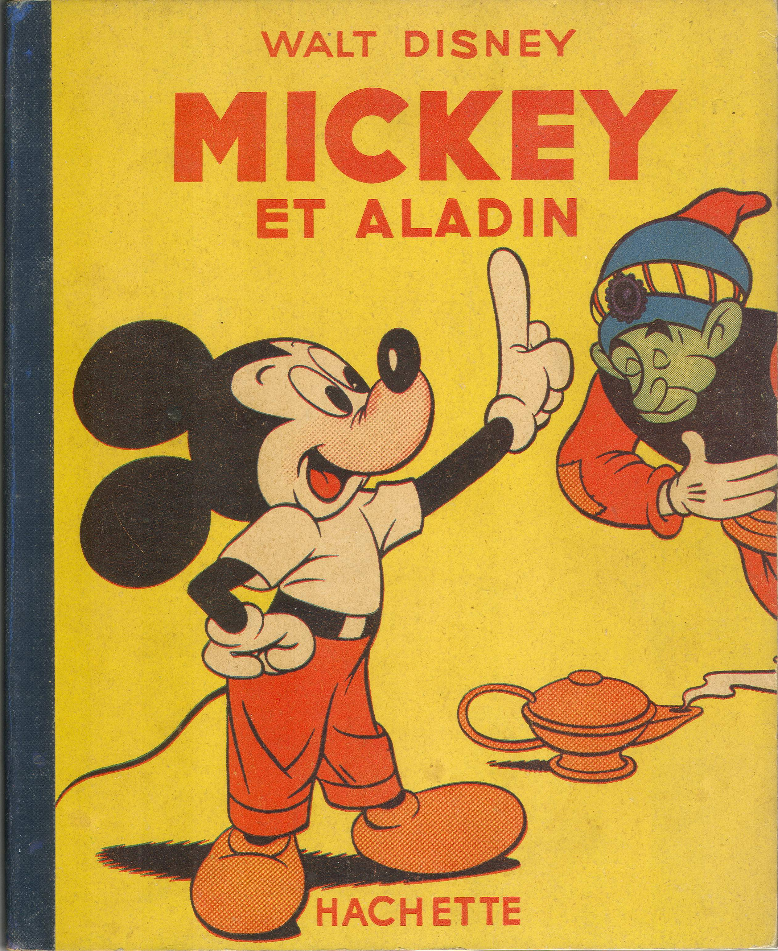 Mickey et la lampe d'Aladin