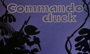 Title card Commando Duck