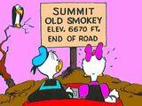 Sommet du vieux Smokey