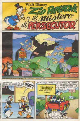 Oncle Picsou et le mystère « persécutor » !