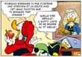 Popop préconise à Donald d'interviewer Sir Isaac Duckton