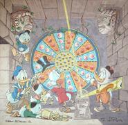 Le Fils du soleil illustration scène exclusive de Don Rosa