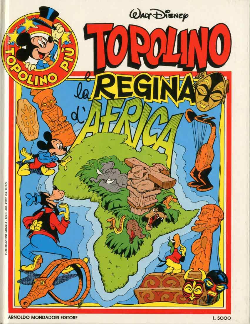 Mickey et la reine d'Afrique