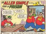 Un aller simple pour la prison