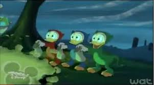 Donald fête Halloween