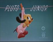 Title card Pluto Junior