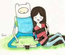 Marceline and finn by vanillaxhermit-d3lobwe