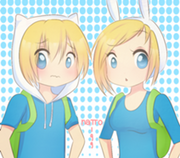 212px-Art trade finn and fionna by natto 99-d54rkj1.png