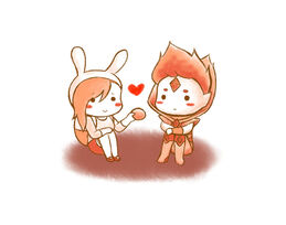 2 fionna heart flame prince by yukinayee-d59misz