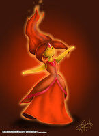 Flame princess by baconlovingwizard-d5bhtil