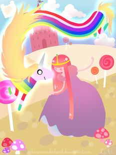The princess and the rainicorn by lucieinunderland-d4n3qsv