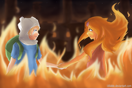 1 circlebox finn-and-flame-princess-fanart