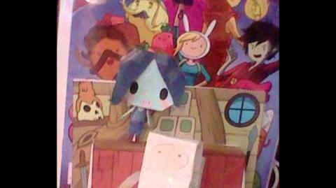 Adventure Time Fionna and Cake Party!