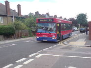 W5 Bus on Weston Park road