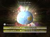 Topografie-Projektion