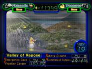 Pikmin 2 Map screen