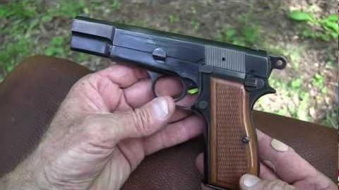 Browning Hi-Power Close-Up