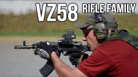 CZ Vz58 Rifle Family- VZ58 Rifle Family