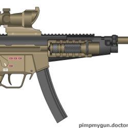 Customized MP5 Variants (Foxtrot12)