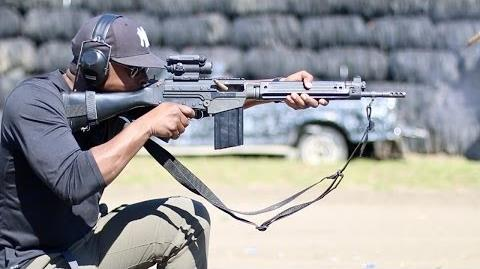 Colion Noir and the FN FAL from DSARMS