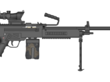 XM260 machine gun