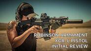 Robinson Arms XCR-L Pistol