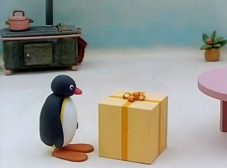 Pingu is Curious