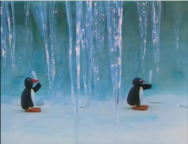 Pingu the Icicle Musician