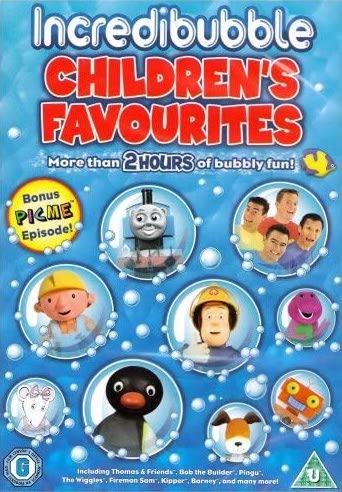 Incredibubble Children's Favourites